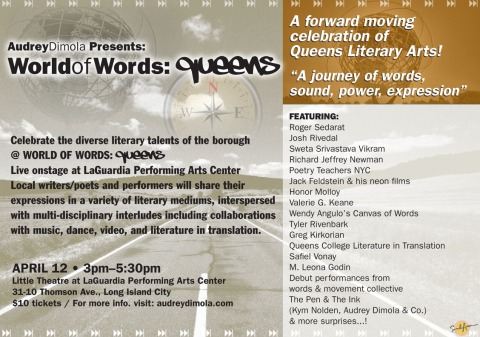 Audrey Dimola's World of Words: Queens
