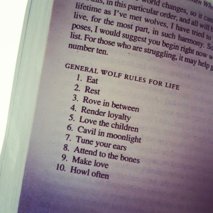 wolf rules for life