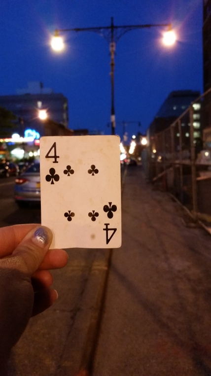 Image result for FOUR of Clubs